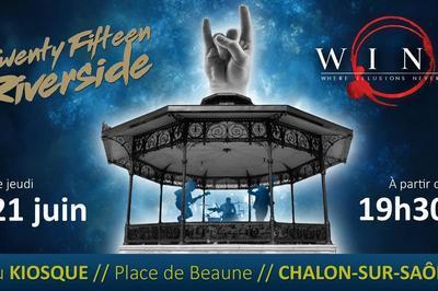 Twenty Fifteen Riverside (Fête de la Musique 2018) à Chalon sur Saone