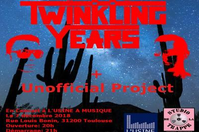 Twinkling Years et Unofficial Projects à Toulouse