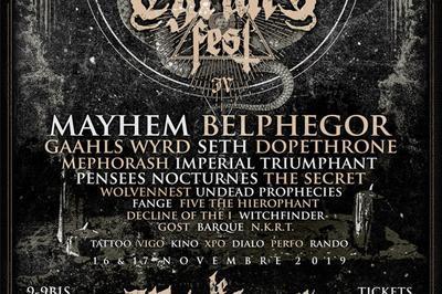 Tyrant Fest - Jour 1 à Oignies