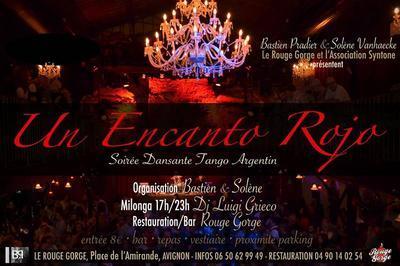 Un Encanto Rojo - Soirée Dansante Tango Argentin à Avignon