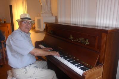 Un Récital De Piano Par Harald Schlude à Pierre de Bresse