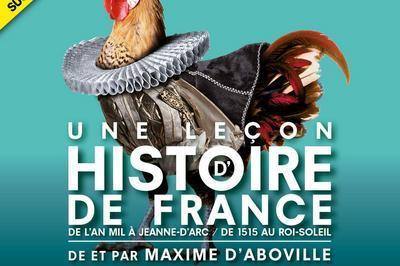 Une leçon d'histoire de France à Paris 6ème