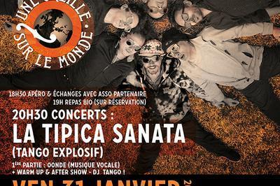 Une Oreille sur le Monde - Concerts - Soirée Tango Argentin! à Treffiagat