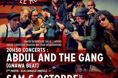 Abdul and the Gang (Gnawa Beat/Maroc) et Elio Camalle (Brésil) à Treffiagat