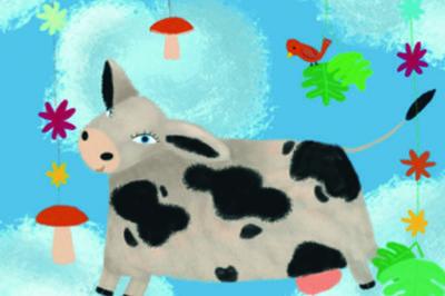 Une Vache Dans Les Nuages à Lyon