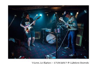 V.Love (Garage-Rock) à Lille