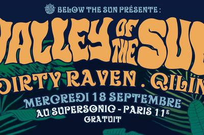 Valley Of The Sun, Dirty Raven,  Qilin  à Paris à Paris 12ème