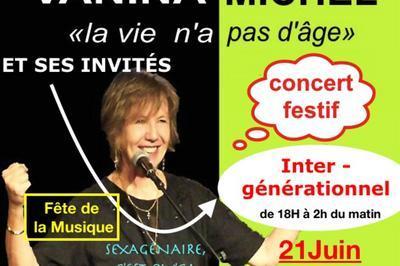 Vanina Michel Et Ses Invités à Paris