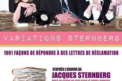Variations Sternberg à Paris 18ème