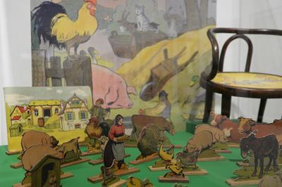 Venez Jouer En Famille Autour De L'exposition Benjamin Rabier à La Roche sur Yon