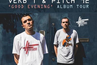 Verb T & Pitch 92 (Hip Hop UK) à Bagnols sur Ceze