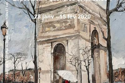 Vernissage Exposition « Lumières et Matières » à Paris 5ème