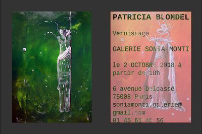 Vernissage Patricia Blondel/galerie Sonia Monti à Paris 8ème