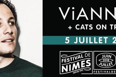 Vianney et Cats on Trees à Nimes