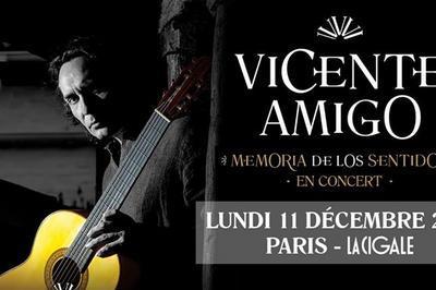 Vicente Amigo à Paris 18ème
