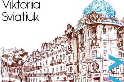 Viktoriia Sviatiuk - Les nuances du bleu à Saint Mathurin sur Loire