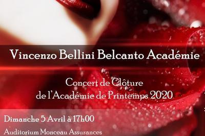Vincenzo Bellini Belcanto Académie - Concert de Clôture à Vendome