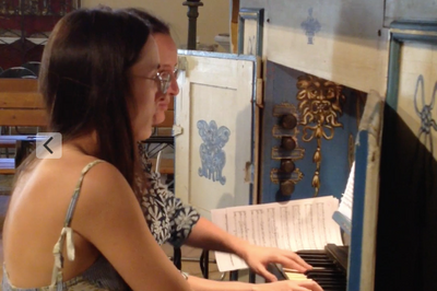 Violons et orgue à Dauphin
