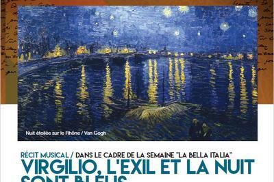 Virgilio, l'exil et la nuit sont bleus à Avignon