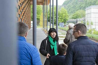 Visite Architecturale : Le Frac, Un Bâtiment écoresponsable à Besancon