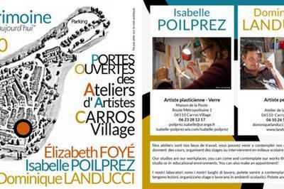 Visite Ateliers D'artistes à Carros