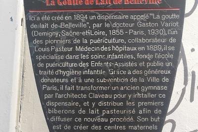 Visite Commentée-conférence La Maison Du Bas Belleville, De La Goutte De Lait Au Centre Social. à Paris 20ème