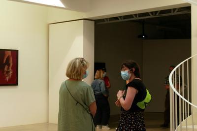 Visite Commentée De L'exposition Silo De Myriam Mihindou à Bourges