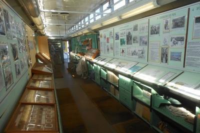 Visite Commentée De L'intérieur D'un Wagon Postal Historique à Toulouse
