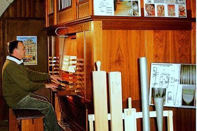 Visite Commentée De L'orgue De L'église Saint-germain à Bort les Orgues