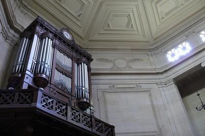 Visite Commentée De L'orgue Et Des Harmoniums Du Temple Protestant Du Saint Esprit à Paris 8ème