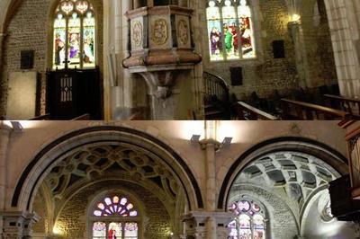 Visite Commentée De La Collégiale Notre Dame Des Marais. à Montluel