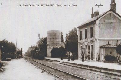 Visite Commentée Des Extérieurs De L'ancienne Gare à Savigny en Septaine
