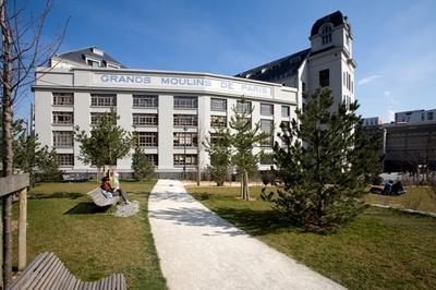 Visite Commentée Des Grands Moulins De Paris À La Bibliothèque Universitaire à Paris 13ème