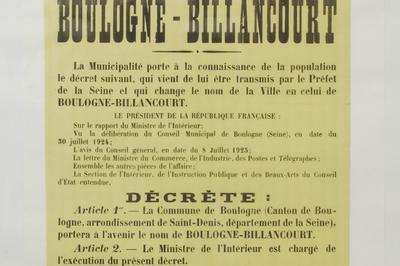 Visite Commentée Des Magasins D'archives à Boulogne Billancourt