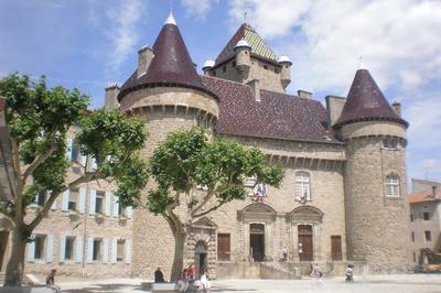 Visite Commentée Du Château. à Aubenas