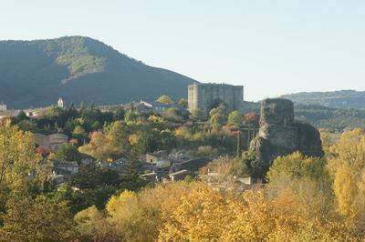 Visite Commentée Du Château D'alba-la-romaine. à Alba la Romaine
