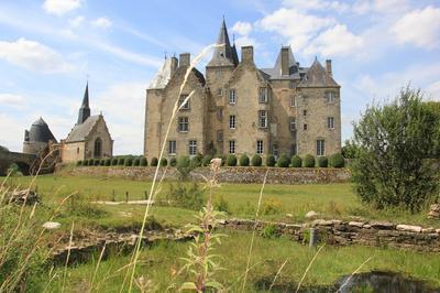 Visite Commentée Du Château De Bourgon à Montourtier