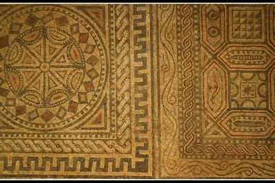 Visite Commentée Du Fragment Restauré De La Mosaïque Gallo-romaine De Migennes (89400)