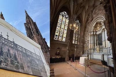 Visite Commentée Du Portail Et De La Chapelle Saint-laurent De La Cathédrale à Strasbourg