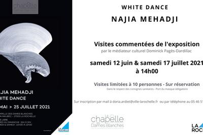 Visite commentée exposition Najia Mehadji à La Rochelle