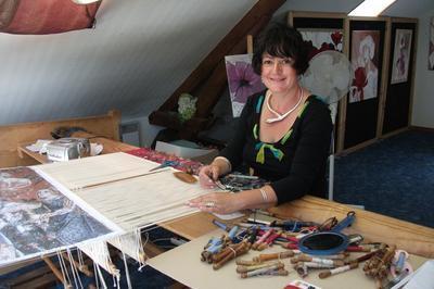 Visite D'un Atelier De Tapisseries D'aubusson Avec Démonstration à Nouzerines