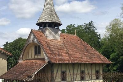 Visite D'une Chapelle À Pans De Bois Du Xve Siècle à Soulaines Dhuys