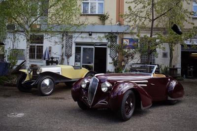 Visite De L'atelier De Restauration De Carrosserie Automobile HH Services à Strasbourg