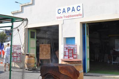 Visite De L'atelier Du Capac à Dives-sur-mer à Dives sur Mer