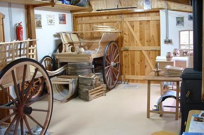 Visite De L'atelier Du Charron à Saint Ours