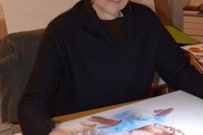 Visite De L'atelier Neocelle Et Exposition D'aquarelles à Assieu