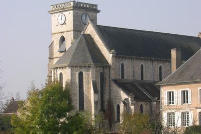 Visite De L'eglise Saint Adrien À Mailly-la-ville à Mailly la Ville