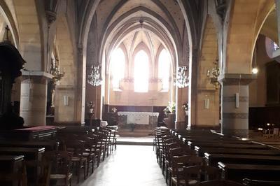 Visite De L'église Saint Pierre De Dampierre-en-yvelines à Dampierre en Yvelines