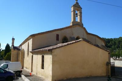 Visite De L'église Saint-pierre Et De Sa Crèche à Jouques