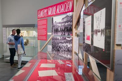 Visite De L'exposition Mai 68 En Alsace à Strasbourg